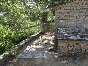 Seccatoio - Blick auf die Veranda